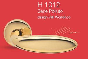 Дверные и оконные ручки Valli&Valli серия H 1012 Poliuto