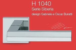 Дверні та віконні ручки Valli&Valli серія H 1040 Siberia