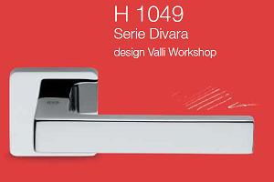 Дверные и оконные ручки Valli&Valli серия H 1049 Divara