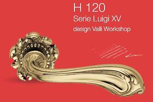 Дверные и оконные ручки Valli&Valli серия H 120 Luigi XV