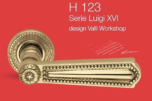 Дверные и оконные ручки Valli&Valli серия H 123 Luigi XVI
