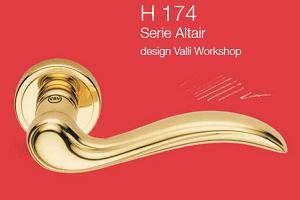 Дверні та віконні ручки Valli&Valli серія H 174 Altair