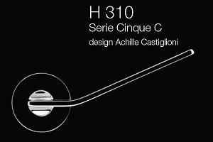 Дверні та віконні ручки Fusital H 310 Cinque C