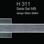 Дверні та віконні ручки Fusital H 311 Sei MB