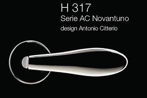 Дверні та віконні ручки Fusital H 317 AC Novantuno