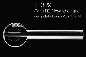 Дверні та віконні ручки Fusital H 329 RB Novantacinque