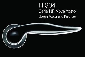 Дверні та віконні ручки Fusital H 334 NF Novantotto