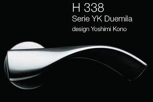Дверні та віконні ручки Fusital H 338 YK Duemila