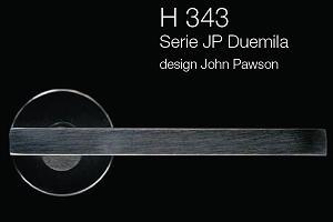 Дверні та віконні ручки Fusital H 343 JP Duemila