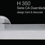 Дверні та віконні ручки Fusital H 350 CA Duemiladue