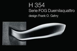 Дверні та віконні ручки Fusital H 354 FOG Duemilaquattro