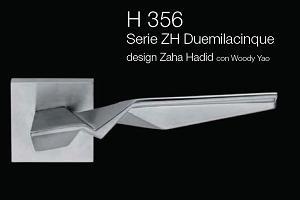 Дверні та віконні ручки Fusital H 356 ZH Duemilacinque