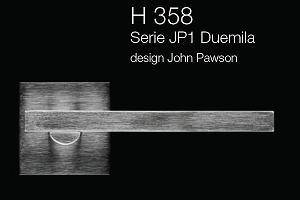 Дверні та віконні ручки Fusital H 358 JP1 Duemila