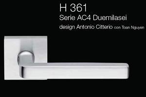 Дверні та віконні ручки Fusital H 361 AC4 Duemilasei
