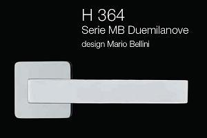 Дверні та віконні ручки Fusital H 364 MB Duemilanove