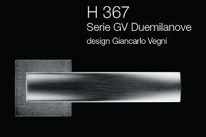 Дверні та віконні ручки Fusital H 367 GV Duemilanove