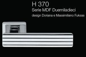 Дверні та віконні ручки Fusital H 370 MDF Duemiladieci