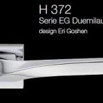 Дверні та віконні ручки Fusital H 372 серія EG Duemilaundici