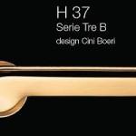 Дверні та віконні ручки Fusital H 37 Tre B
