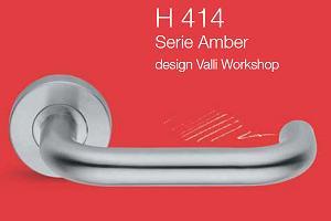 Дверні та віконні ручки Valli&Valli серія H 414 Amber