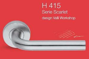 Дверные и оконные ручки Valli&Valli серия H 415 Scarlet