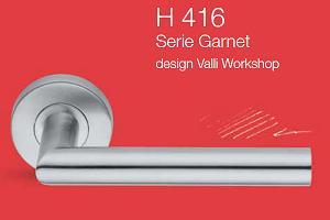 Дверні та віконні ручки Valli&Valli серія H 416 Garnet