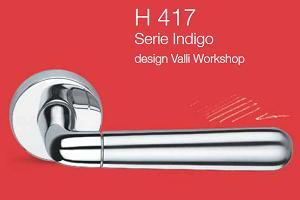 Дверні та віконні ручки Valli&Valli серія H 417 Indigo
