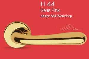 Дверные и оконные ручки Valli&Valli серия H 44 Pink