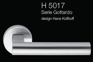 Дверні та віконні ручки Fusital H 5017 Gottardo