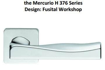 Дверные ручки Fusital серия H 376 Mercurio